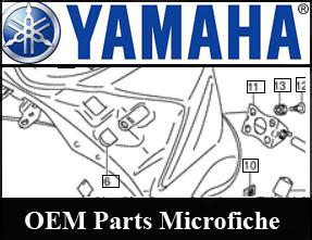 Ktm suzuki arctic cat yamaha oem parts parts outlaw for Yamaha parts fiche